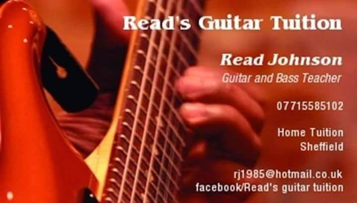 Guitar lessons Sheffield - beginners to advanced
