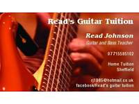 Guitar Lessons - from £14