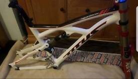 Titus x carbon Bike framw and forks