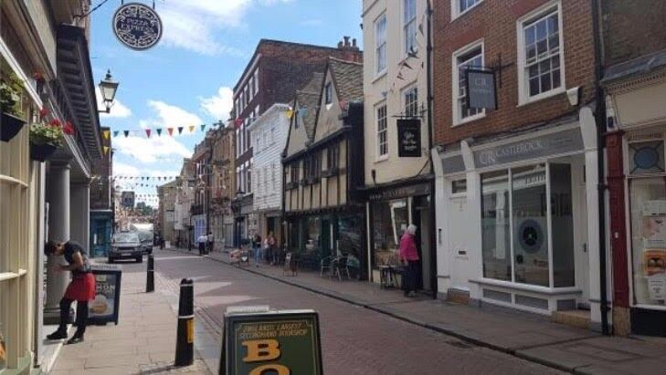 Hair and Beauty Salon for sale in the heart of Rochester situated near the iconic Rochester Castle