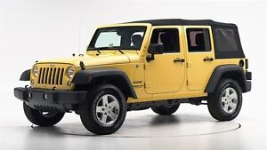Use 2015 yellow jeep wrangler unlimited sport soft top