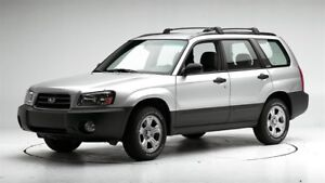 Subaru Forester - Manual