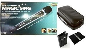 Magic Sing Karaoke Mic ET9K Tagalog Version 2,130 Tagalog and English POP Mix