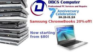 ON SALE 20% OFF! Samsung Chromebook Series 3 XE303C12 Dual Core 1.70GHz 2GB DDR3L 16GB SSD 11.6in