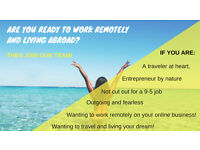 Recruiting NOW! All travellers and entreprenerus! NO Experience needed!
