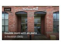 Double room for single person in Victoria Mill