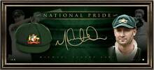 Michael Clarke NATIONAL PRIDE – SIGNED BAGGY GREEN TRIBUTE LITHOG Balcatta Stirling Area Preview