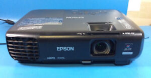 Epson 1263W  Widescreen  HD  Remote WXGA HDMI  3LCD Projector
