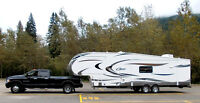 RV trailer deliveries