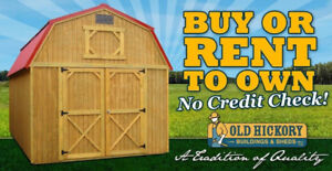 Old Hickory Sheds and Buildings for sale