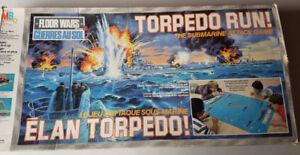 Torpedo Run board game