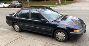 1992 Honda Accord EXR 4-Door Sedan
