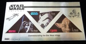Star Wars Trilogy 1997  Limited Collectable Stamps