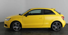 YELLOW AUDI A1 1.0 1.2 1.4 2.0T FSI SE SPORT S LINE BLACK FROM £109 PER WEEK!