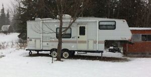 2001 Jayco Qwest Fifth Wheel Trailer For Sale to Good Home