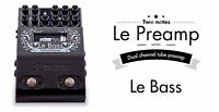 "Two Notes ""Le Preamp"" Series a lampes Bass et Guitare $419"