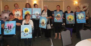 $20 off SAS PAINTING PARTY  AT BOSTON PIZZA LINDSAY Kawartha Lakes Peterborough Area image 8