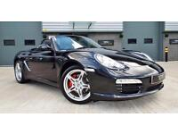 2010 Porsche Boxster S 3.4 Gen 2 Manual Black Big Spec Low Miles A Must See!