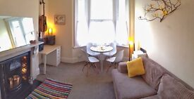 Fully furnished lovely one bed flat, short term rental