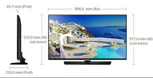 "TV HD DEL 40"" 1080p Samsung commerciale garantie 3 mois"