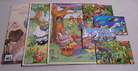 LOT OF 7 CHILDREN'S BOARD WOOD PUZZLES