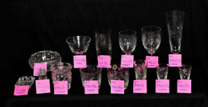 Pinwheel Crystal Collection - as new condition