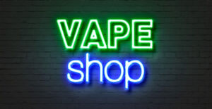 Vape shop for sale
