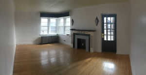 Large 2 bedroom apartment available Jan 1st