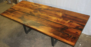 Rustic Heritage Table - Brand New Reclaimed Wood Tables For Sale
