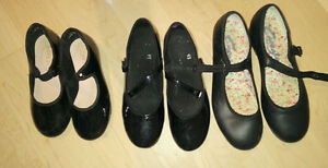 Tap dance shoes sizes 8.5/10, 11 and 13 to 5, jazz shoes size 1 Kitchener / Waterloo Kitchener Area image 5