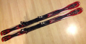 APACHE back country skis with binding 192 cm