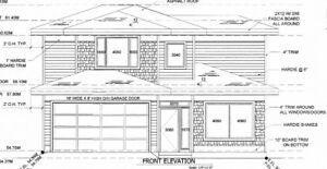 2 storey new construction with 3 bed + den and panoramic mountai