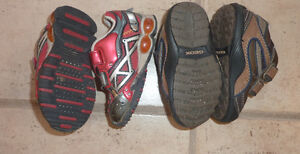 2 pairs of GEOX sneakers, toddler size 5.5, worn once, $ 15/pair Kitchener / Waterloo Kitchener Area image 2