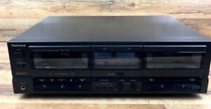 Technics Stereo Double Cassette Deck RS-TR155 ( 1986 )