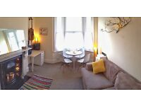 Central one bedroom flat, fully furnished, short term rental..