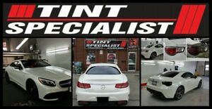 window tinting by Tint Specialist inc. lifetime warranty