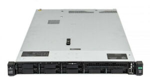 HP ProLiant DL360 G10 1U Rack Mount Server (2x CPU 4x SSD)