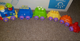Leap frog number train