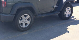Goodyear WRANGLER tires with 2011 Jeep JK rims