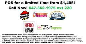 Best Proven! Point of Sale Systems POS for Restaurants