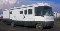 Motorisé Winnebago adventurer 2002 2 extensions 32' V10 tritton