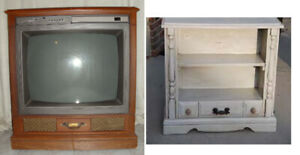 Working  Console Furniture TV for upcycle