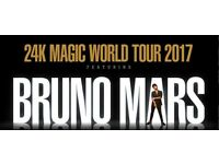 Bruno mars live at the o2