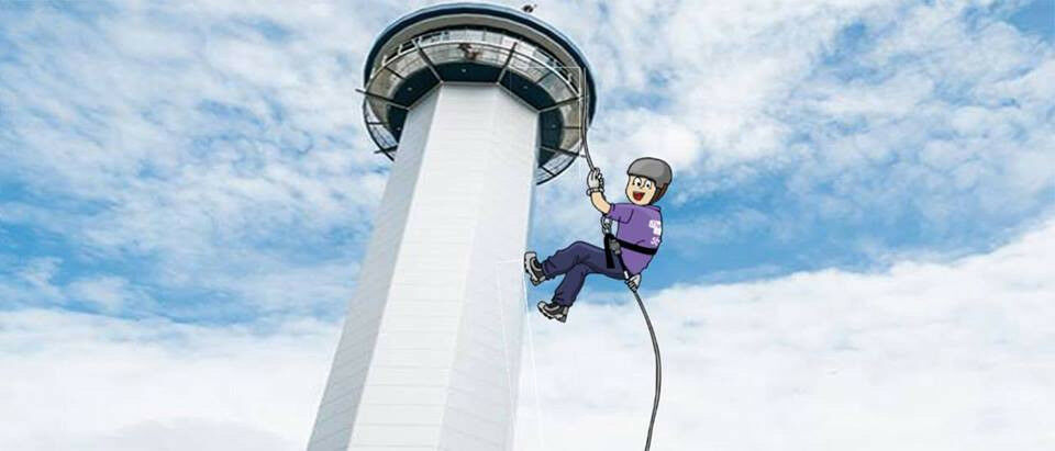 Aberdeen Tower Abseil for SBH Scotland - Sunday