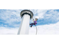 Aberdeen Tower Abseil for SBH Scotland - Sunday 18th March 2018
