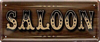 Saloon Cowboy Western Wild West Kneipe Bar Pub USA Türschild Blechschild B0170 online kaufen