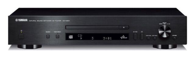 Yamaha CD-N301 CD Player Black