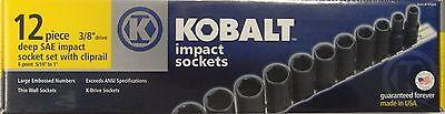 Kobalt 97669 12-Piece 3/8