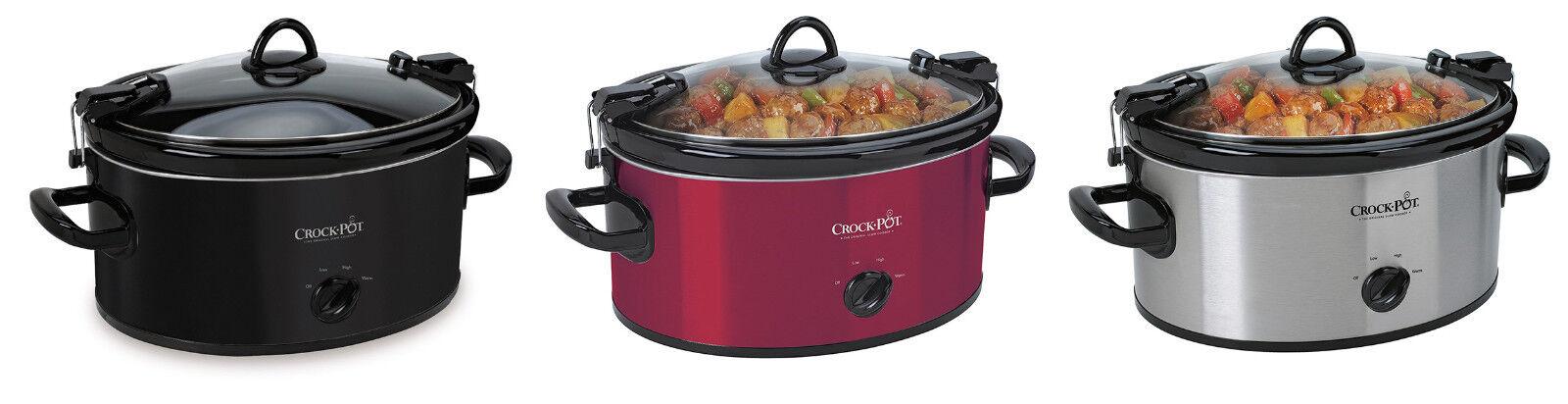 Crock-Pot SCCPVL600 Cook' N Carry 6-Quart Oval Portable Slow
