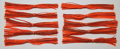 -Bass Fishing-Fishing Missouri Craw 10 Custom Made Silicone Spinner//Jig Skirts